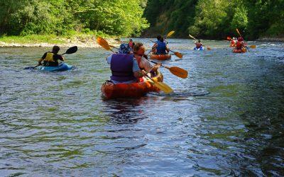 canoe sur l'eau (3)